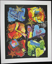 Dottie COOPER Katz, Original Offset Lithograph, Love Forever II, Signed Numbered