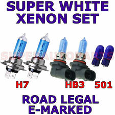 Se adapta a Suzuki Grand Vitara 2005 + Set H7 Hb3 501 Xenon Super White Light Bulbs