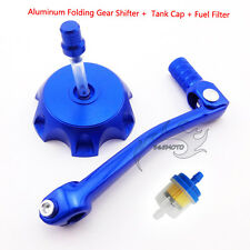 Gear Shifter Shift Lever Fuel Tank Cap Cover Filter For 125 150 cc Pit Dirt Bike
