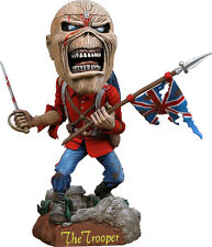 Iron Maiden Eddie The Trooper Bobble Head Knocker NECA New