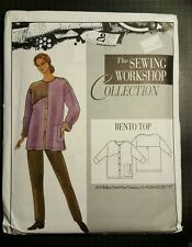 BENTO TOP UNCUT from THE SEWING WORKSHOP COLLECTION Pattern All Sizes Shirt