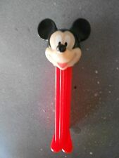 MICKEY MOUSE Vintage Pez Dispenser Disney Character made in Slovenia red body