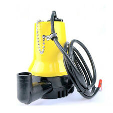 HIG 12V Submersible Water Pump 1620GPH 6000L/H Clean Clear Dirty Pool Pond Flood