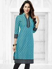 Elegant Cotton Multi Colour Printed Kurti Material No PK127