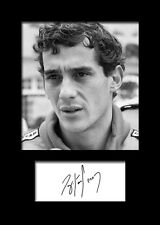 ARYTON SENNA #1 Signed Photo Print A5 Mounted Photo Print - FREE DELIVERY