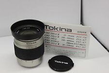 Tokina  28-80mm Lens Marco + Zoom Lens Auto Focus for Sony and Minolta Brand-New
