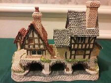 """David Winter Cottages """"Arches Thrice"""" 1993 Signed No box or coa"""