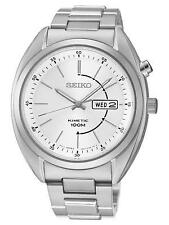 SKNP SMY117P1 Seiko Mens Gents Day Date Display Bracelet Kinetic Watch