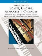 Scales, Chords, Arpeggios and Cadences : Complete Book by Willard A. Palmer,...