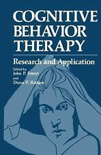 Cognitive Behavior Therapy:Research and Application Foreyt, John Hardcover