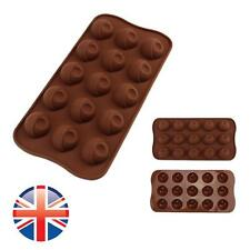 *UK Seller* Silicone 15 Eyes Shape Chocolate Cake Ice Jelly Baking Mould Mold