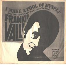 FRANKIE VALLI--PICTURE SLEEVE ONLY--(I MAKE A FOOL OF MYSELF)--PS--PIC--SLV