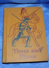 Times and Places Basic Readers Scott Foresman & Company 1947-48 Edition Hardback