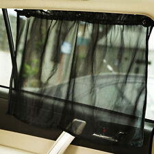 1*Car Sun Shade Side nylon Mesh Window Curtain Foldable Sunshade UV Protection