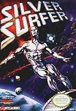 Silver Surfer Nintendo NES Game Cart Tested Used