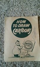 Vintage Mason Mints Candies How To Draw Cartoons Booklet Black Crows Dots