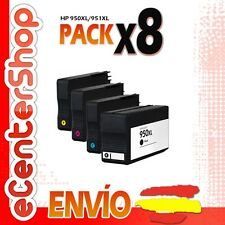 8 Cartuchos de Tinta NON-OEM 950/951XL - HP Officejet Pro 8600