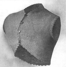 How to knit a Victorian Oxford puzzle jacket or hug me tight-Knitting pattern