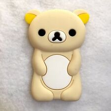 BUY 1 GET 1 FREE - iPod NANO 7th Gen Soft Silicone Case Cover Cute Teddy Bear
