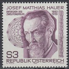Österreich Austria 1983 ** Mi.1733 Hauer Zwölftonspiel Musik Music