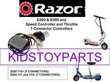 NEW! Razor E200 V13+ ESC KIT (ELECTRONIC SPEED CONTROLLER + THROTTLE)