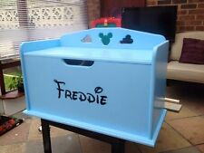 Personalised Wooden Handmade Childrens Toy Box Storage OFFERS WELCOME