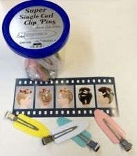 Lady Mate Salon Super Single Hair Curl Clip 24 Clips Per Jar - No Mark Pin Curl
