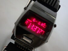 **EXC** Seiko ALBA AKA Wristwatch W670-4000 *Black Case* from Japan #192a