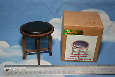 WOODENFACE 1/6TH SCALE LEATHER BAR STOOL