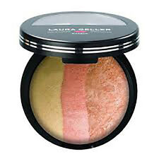 Laura Geller BAKED CHEEK DREAMS - Highlighter & Blush - Vanilla Peach Cobbler 9g