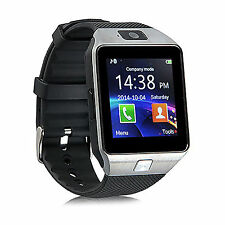 Men Bluetooth Smart Wrist Watch Phone For Android Cellphone Samsung LG HTC M8 M9