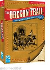 The Learning Company The Oregon Trail 5th Edition for PC SEALED NEW