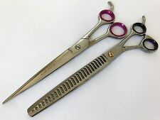 "8.5"" Gift set pets Grooming Scissor thinning shear Chunkers dog cat scissor"