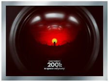 2001 A SPACE ODYSSEY STANLEY KUBRICK Metallic Limited edition art print poster