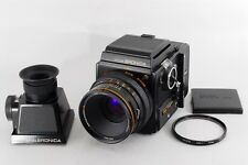 EXCELLENT+++ BRONICA SQ Zenzanon-S 80mm F/2.8 w/ CDS Finder from japan #175