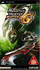 Used PSP Monster Hunter Portable 2nd G  Japan Import ((Free shipping))