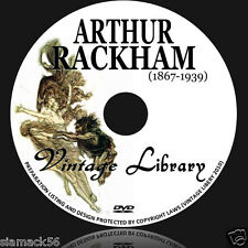 ARTHUR RACKHAM 1200 Illustrations 41 Vintage Fairy Tale Books PDF on DVD image