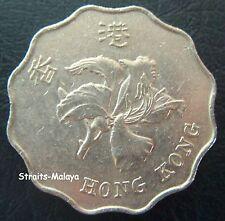 HONG KONG 2 DOLLARS 1993 COIN