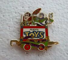 *~* DISNEY TOY STORY ANDY'S TOYS CHARACTER TRAIN COLLECTION MYSTERY TIN PIN *~*