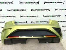 SEAT IBIZA CUPRA FR 2008-2012 REAR BUMPER IN GREEN [O23]