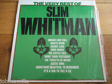 THE VERY BEST OF SLIM WHITMAN - LP - UNITED ARTISTS RECORDS - LM-1005 - CANADA