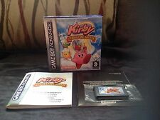 KIRBY & AND THE AMAZING MIRROR Nintendo Game Boy Advance GBA DS
