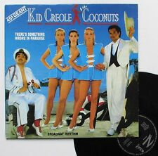 "Vinyle maxi Kid Creole & the Coconuts   ""There's something wrong in paradise"""