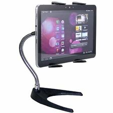 "Heavy Duty 10"" Flex Neck Metal Stand For Apple iPad Pro Air Mini 7-12"" Tablets"