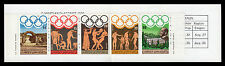 GREECE 1984 LOS ANGELES OLYMPIC GAMES -  BOOKLET MNH