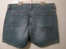 Calvin Klein Designer Brand Denim Shorts Low Rise Button Fly Size 12 NEW