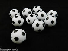 10 New Soccer Style Foosball Replacement Balls Table Soccer