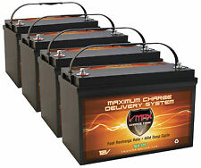QTY4 Solar Wind VMAX SLR125 AGM SLA Maint Free Deep Cycle 500AH VRLA Batteries