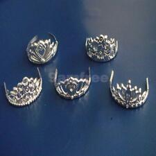 Fashion Girl Friend Party Jewelry Set 5pcs Mix Style Crown For Barbie Dolls