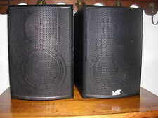 M & K MILLER & KREISEL  SURROUND SOUND SUR 550 THX LEFT AND RIGHT PAIR